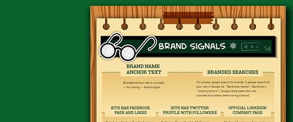 Google's 200 SEO Ranking factors, Part Seven Brand Signals